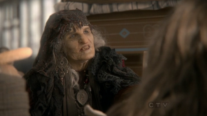 Ouat we may have seen the old hag transformation