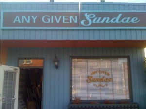 Any Given Sundae