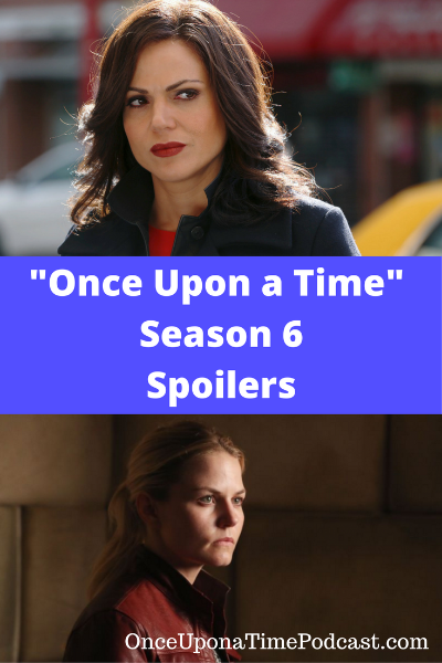 Once Upon a Time Season 6 Spoilers